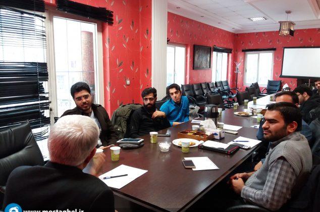 دیدار برخی از اعضای  اتحادیه انجمنهای اسلامی دانشجویان مستقل با دکتر عارف
