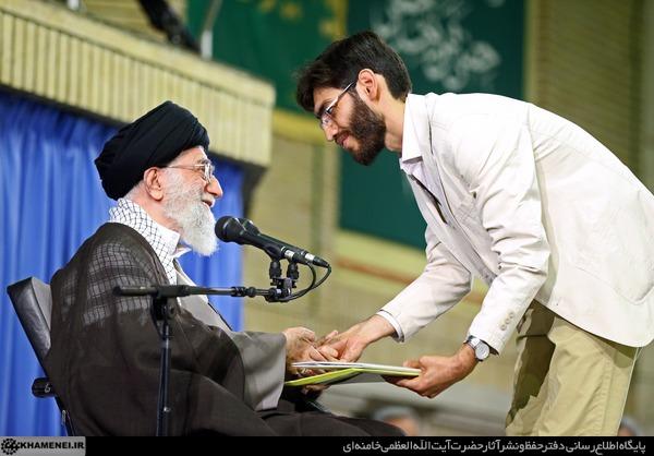 متن کامل نماینده اتحادیه انجمن های اسلامی دانشجویان مستقل در دیدار با رهبری