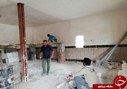 اردو جهادی در بخش ابولفارس، شهرستان رامهرمز + تصاویر