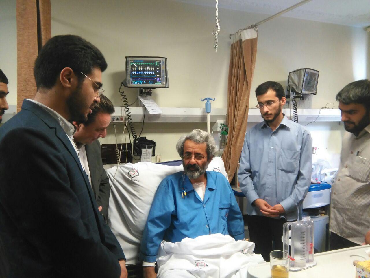عیادت شورای مرکزی اتحادیه انجمنهای اسلامی دانشجویان مستقل از سلیمینمین