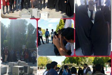 تجمع اعتراض آمیز تشکل های سیاسی دانشگاه هرمزگان به معاونت فرهنگی دانشگاه!