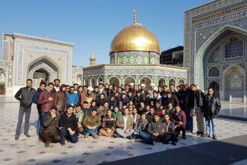 اردوی فرهنگی-زیارتی کبوتر حرم به همت انجمن اسلامی دانشجویان دانشگاه یزد در مشهد مقدس برگزار شد.