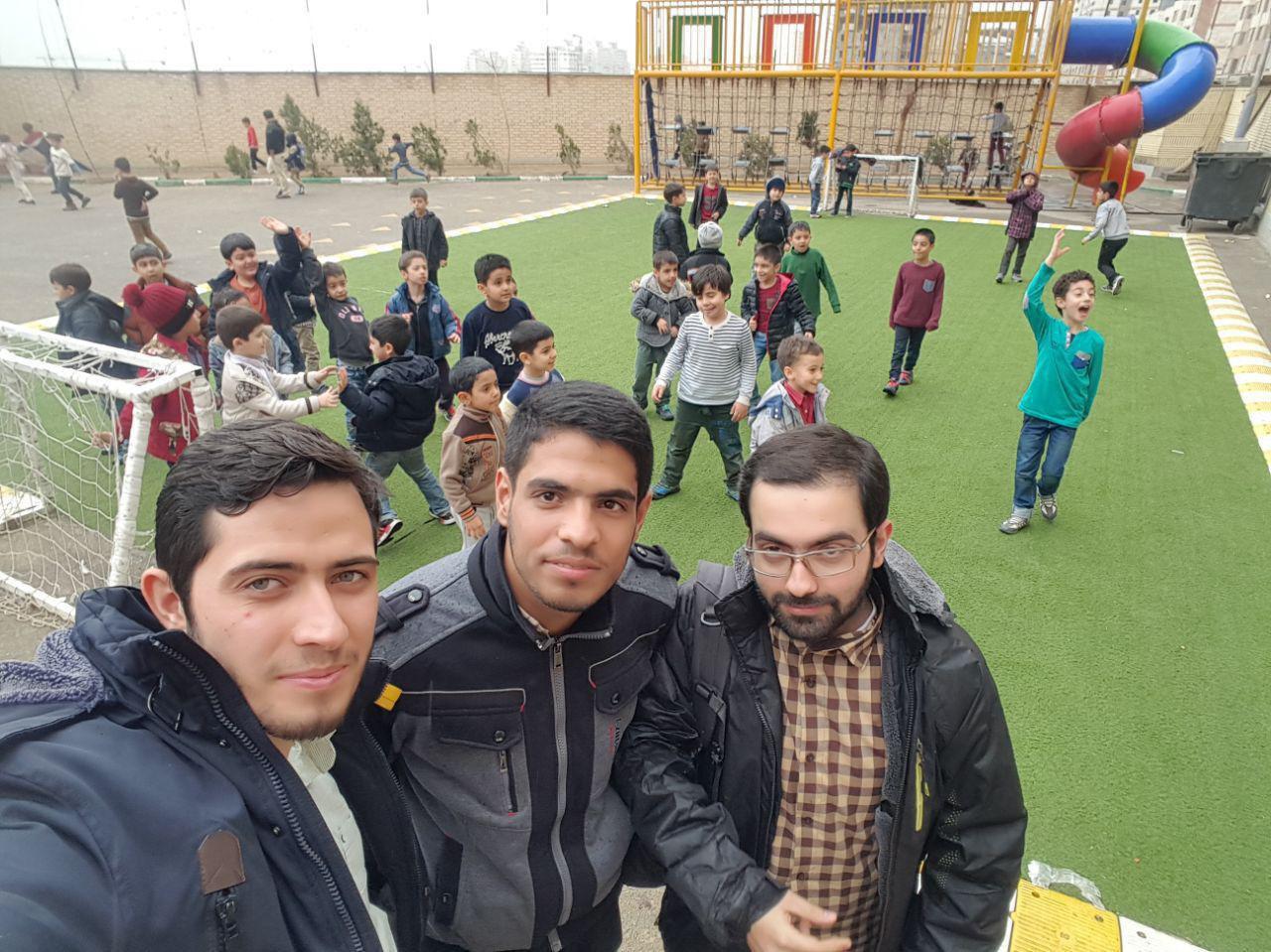 گزارش بازدید از مجتمع آموزشی سراج
