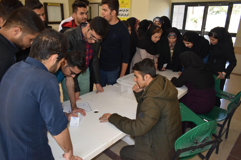علیرضا رحیمی، دبیر تشکیلات انجمن اسلامی دانشجویان مستقل دانشگاه علوم پزشکی فسا شد