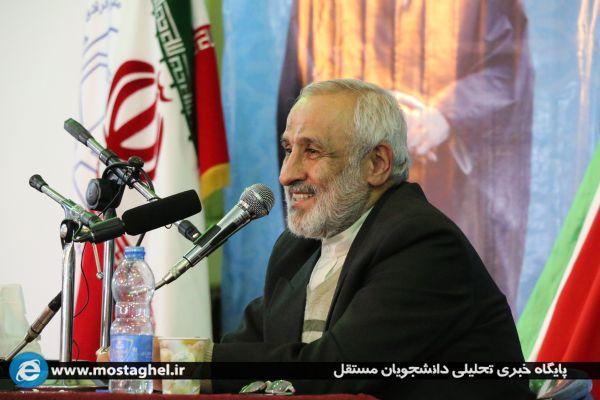 نشست سیاسی انتخاباتی الیاس نادران در جهاد اکبر ۱۴