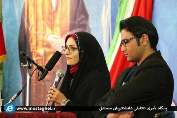 حضور برگزیدگان جشنواره مردمی فیلم عمار در جمع دانشجویان