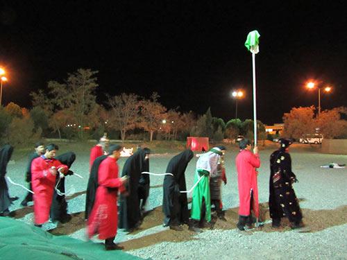 تعزیه دانشجویی در دانشگاه بیرجند برگزار شد